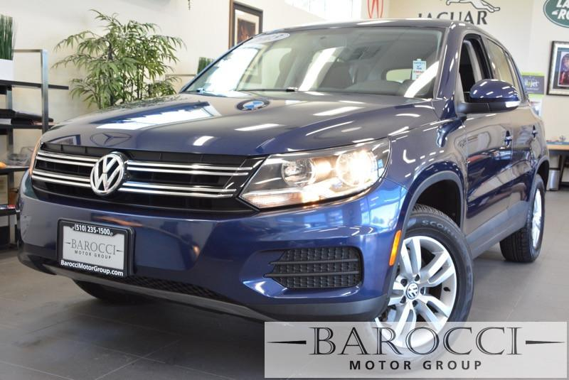 2013 Volkswagen Tiguan S 4dr SUV 6A 6 Speed Auto Blue ABS Air Conditioning Alarm Alloy Wheels