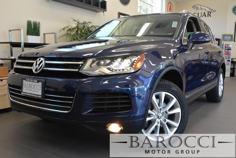 2013 Volkswagen Touareg VR6 Sport AWD  4dr SUV 8 Speed Auto Blue Tan This is a beautiful vehicl