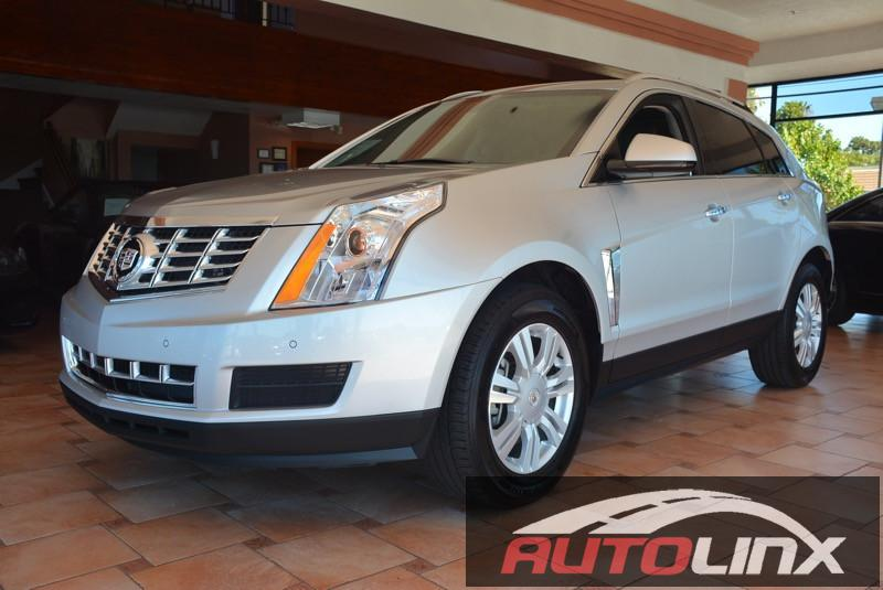 2016 Cadillac SRX Luxury Collection 6-Speed Automatic wManual Shift Silver Black Your satisfac