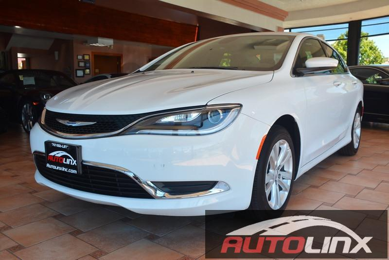 2016 Chrysler 200 Limited 9-Speed Automatic White Black Black Best color The AutoLinx Inc ED