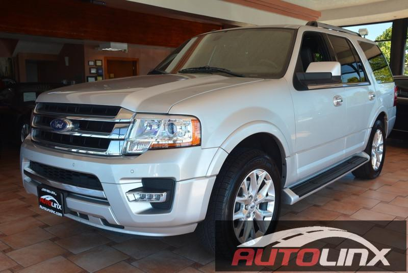 2015 Ford Expedition Limited 2WD 6-Speed Automatic Silver Black Dont bother looking at any othe