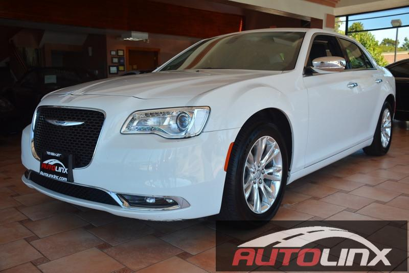 2016 Chrysler 300C C RWD 5-Speed Automatic White Black Bluetooth Hands-Free Portable Audio Co