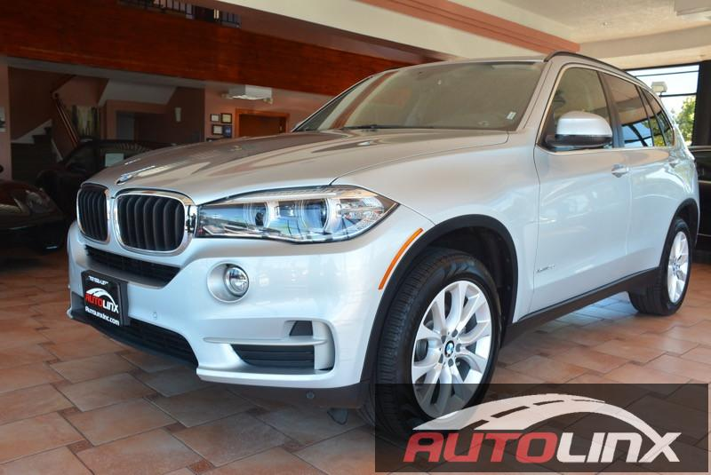 2016 BMW X5 xDrive35i 8-Speed Automatic Silver Black Still under factory warranty Black Artifi