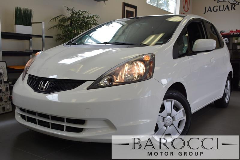 2013 Honda Fit Base 4dr Hatchback 5A 5 Speed Auto White Child Safety Door Locks Power Door Lock
