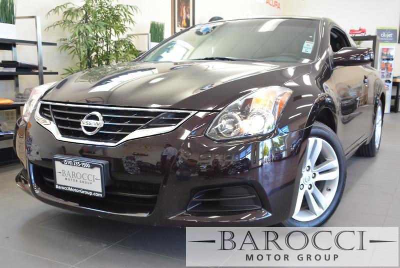 2011 Nissan Altima 25 S Coupe Automatic Black Air Conditioning Alarm Power Steering Power Wi