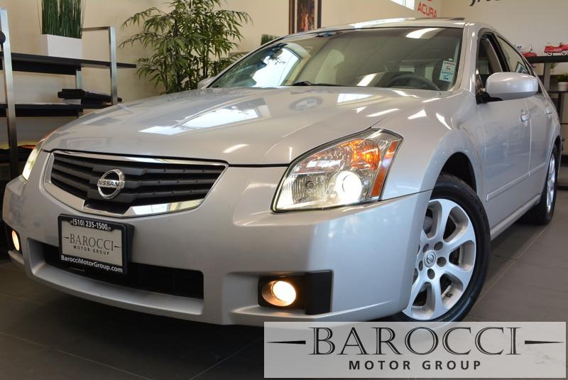 2007 Nissan Maxima 35 SL 4dr Sedan Automatic Silver Child Safety Door Locks Power Door Locks
