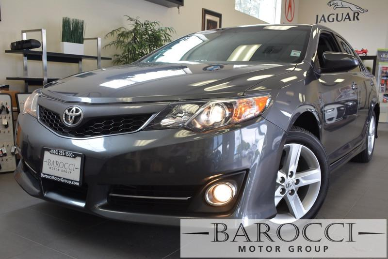 2014 Toyota Camry SE 4dr Sedan 6 Speed Auto Gray Air Conditioning Alarm Power Steering Power