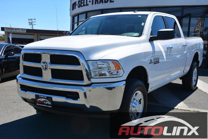 2015 RAM 2500 SLT DIESEL Automatic White Gray 4WD Short Bed Crew Cab There is no better time