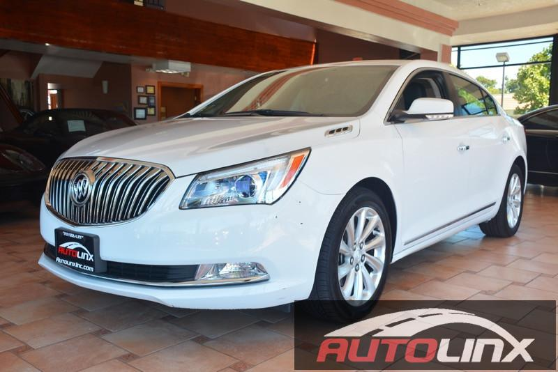 2015 Buick LaCrosse Leather 6-Speed Automatic wOD White Gray Talk about a deal Your satisfact
