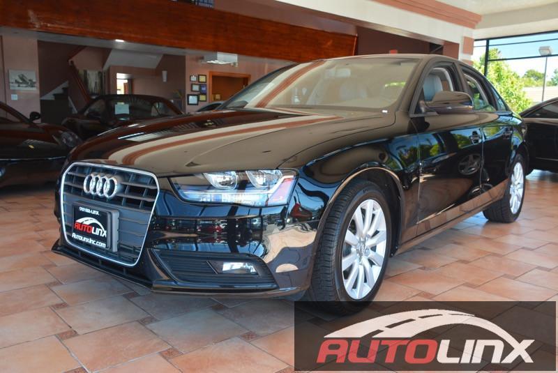 2014 Audi A4 20T Sport  Premium Pkg Automatic CVT Black Black CVT with Multitronic and Black