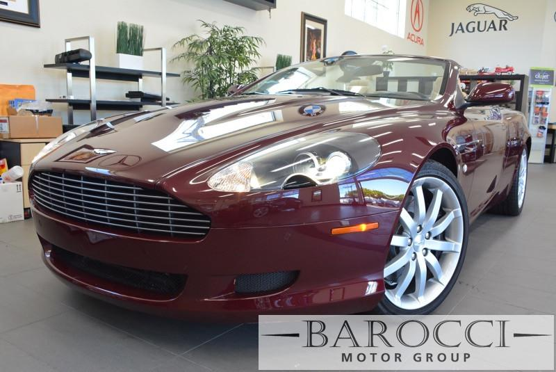 2007 Aston Martin DB9 Volante 2dr Convertible 6A 6 Speed Auto Maroon ABS Air Conditioning Alar