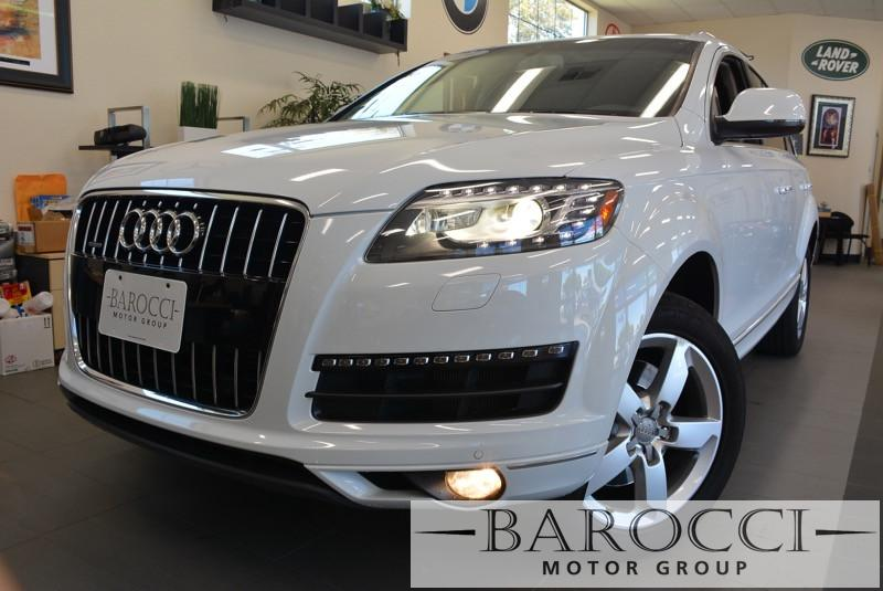2014 Audi Q7 30T quattro Premium AWD  4dr SUV 8 Speed Auto White ABS Air Conditioning Alarm