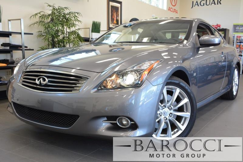 2014 Infiniti Q60 Coupe Journey 2dr Coupe 7 Speed Auto Gray ABS 4-Wheel Air Conditioning Alloy