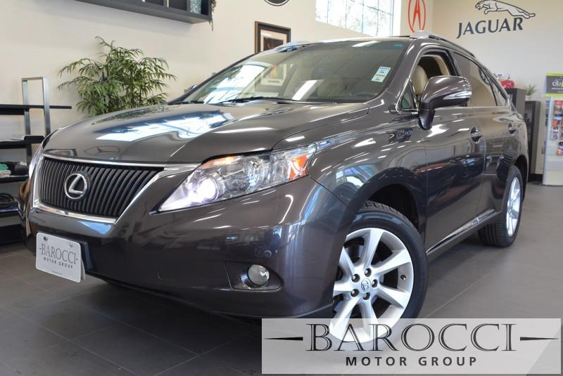 2010 Lexus RX 350 Navigation AWD 4dr SUV 6 Speed Auto Dk Brown ABS 4-Wheel Air Conditioning