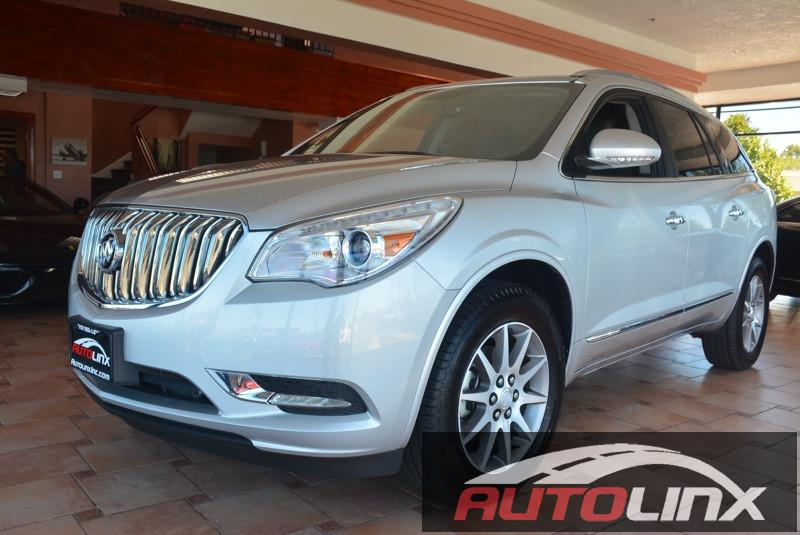 2016 Buick Enclave Leather FWD 6-Speed Automatic Overdrive Silver Black FWD Silver Bullet Cal