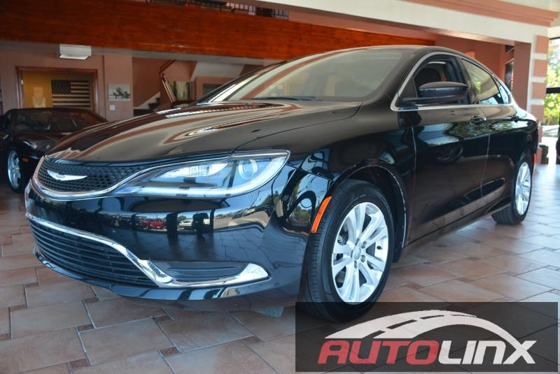 2015 Chrysler 200 Limited 9-Speed Automatic Black Black Black Hold on to your seats At AutoLi