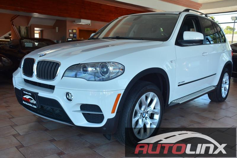 2013 BMW X5 xDrive35i AWD  4dr SUV 8 Speed Auto White Black Technology Package  Automatic High
