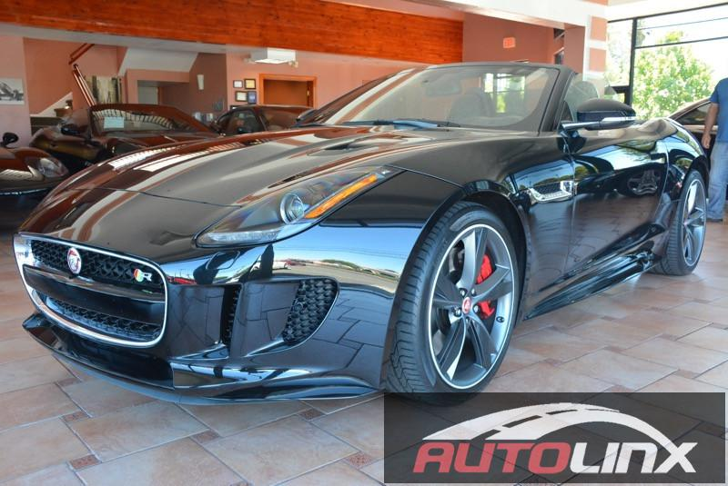 2016 Jaguar F-Type R Convertible AWD 8-Speed Automatic Black Black Dont wait another minute Wo