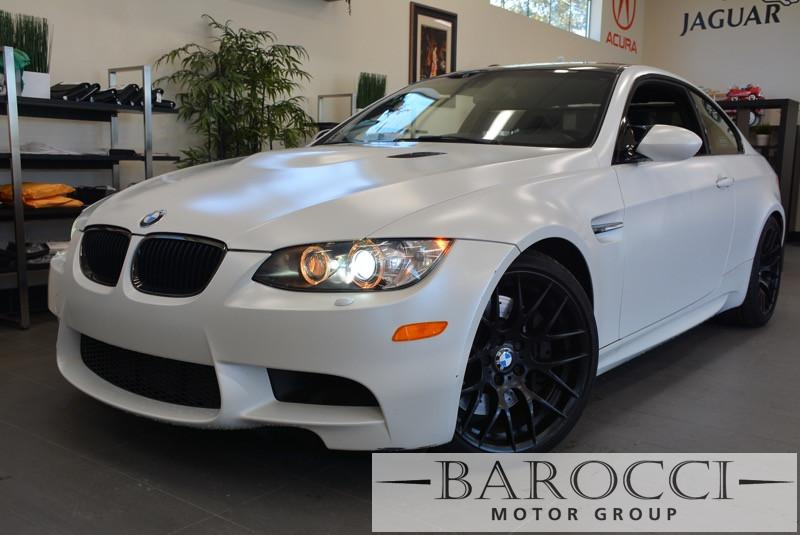 2013 BMW M3 2dr Coupe SMG White Black This beautiful M3 with SMG transmission in Frozen White i