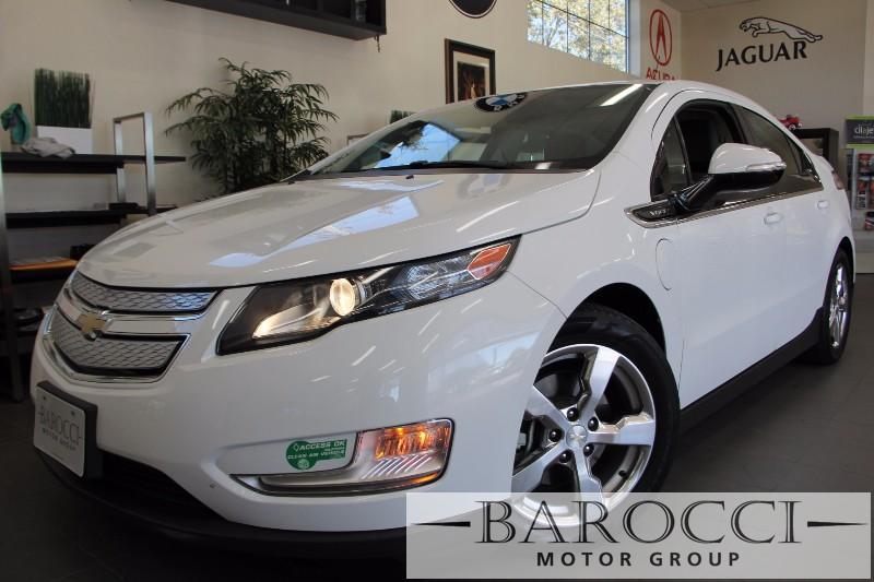 2013 Chevrolet Volt Premium 4dr Hatchback 1 Speed Auto White Beige Beautiful Volt comes loaded