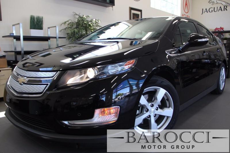 2013 Chevrolet Volt Premium 4dr Hatchback 1 Speed Auto Black Black Beautiful Volt comes loaded