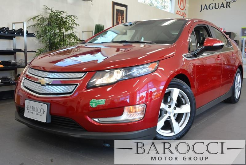 2013 Chevrolet Volt Base 4dr Hatchback 1 Speed Auto Red Carpool Lane Stickers XM Radio ABS Ai