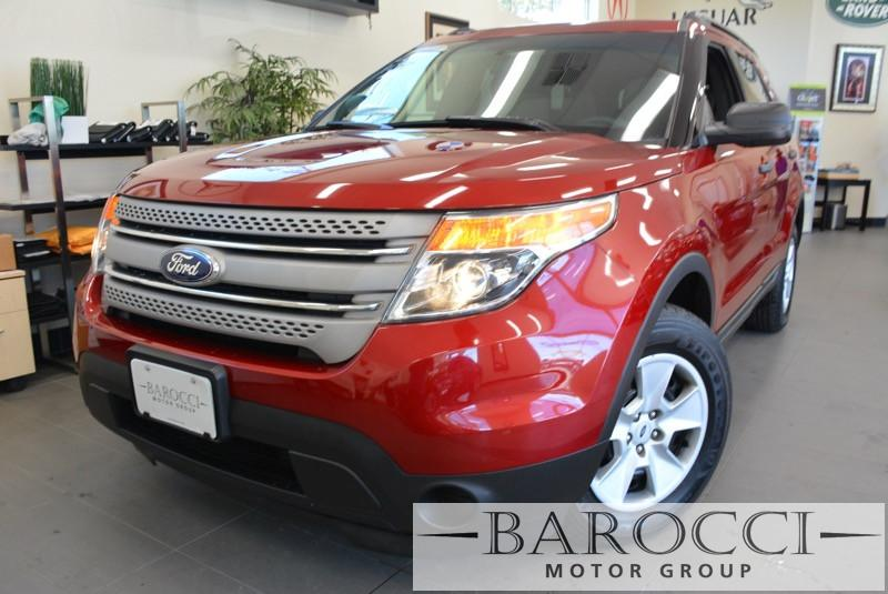 2014 Ford Explorer Base AWD  4dr SUV 6 Speed Auto Red Child Safety Door Locks Power Door Locks