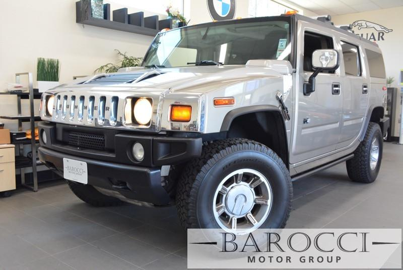 2003 HUMMER H2 Base 4dr 4WD SUV 4 Speed Auto Gray Child Safety Door Locks Power Door Locks Veh