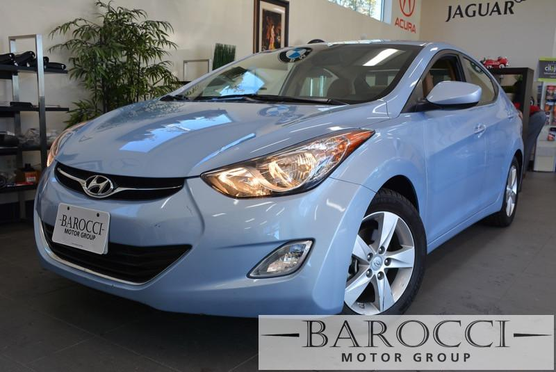 2013 Hyundai Elantra GLS 4dr Sedan 6A 6 Speed Auto Lt Blue Child Safety Door Locks Power Door