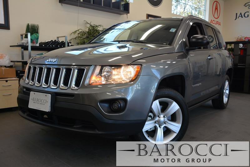 2013 Jeep Compass Sport 4x4  4dr SUV Automatic Gray Black This is a beautiful vehicle in great