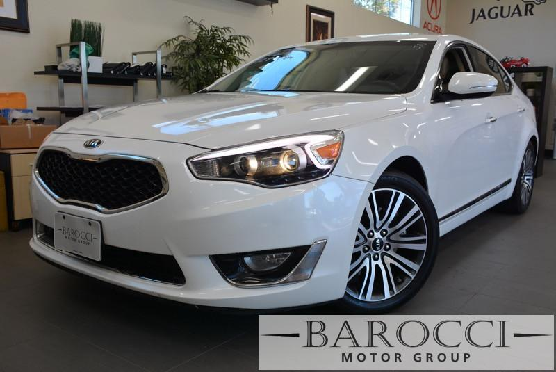 2014 Kia Cadenza Premium 4dr Sedan 6 Speed Auto White Beautiful Cadenza has many options includ
