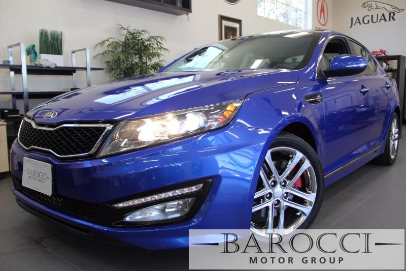 2013 Kia Optima SXL 4dr Sedan 6 Speed Auto Blue Beige This is a beautiful vehicle in great cond
