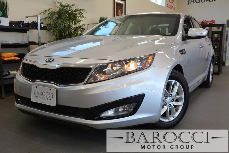 2013 Kia Optima LX 4dr Sedan 6 Speed Auto Silver Child Safety Door Locks Power Door Locks Vehi