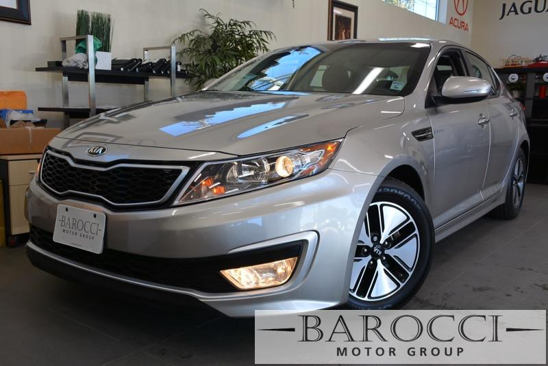 2013 Kia Optima Hybrid LX 4dr Sedan 6 Speed Auto Gray 4-wheel ABS brakes Air conditioning with