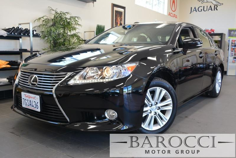 2014 Lexus ES 350 Base 4dr Sedan 6 Speed Auto Black Navigation Moon roof leather heated seats