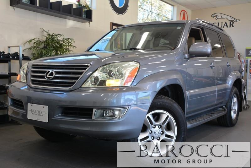 2004 Lexus GX 470 Base 4WD 4dr SUV 5 Speed Auto Blue Navigation DVD Player Third Seat Leather