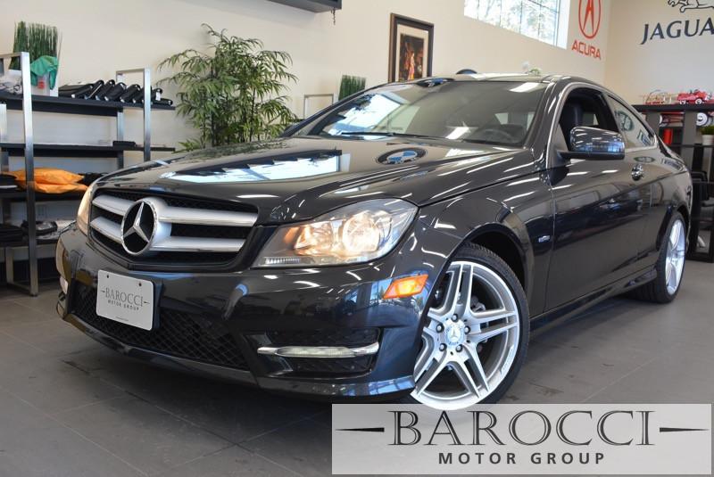 2012 MERCEDES CClass C250 Sport 2dr Coupe 7 Speed Auto Charcoal Black This beautiful One Owner