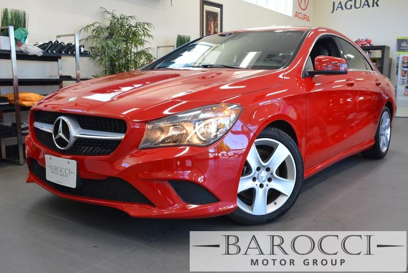 2015 MERCEDES CLA 4MATIC CLA250 4MATIC AWD  4dr Sedan 7 Speed Auto Red Air Conditioning Power S