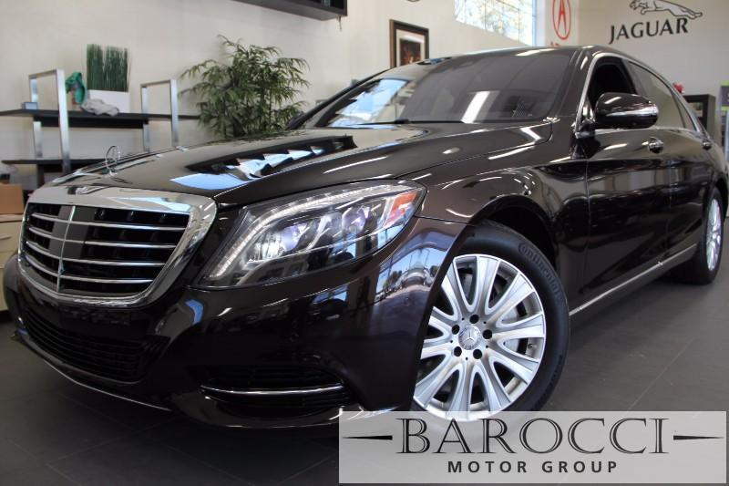 2014 MERCEDES S-Class S550 4dr Sedan 7 Speed Auto Maroon Black Beautiful S550 Loaded with optio