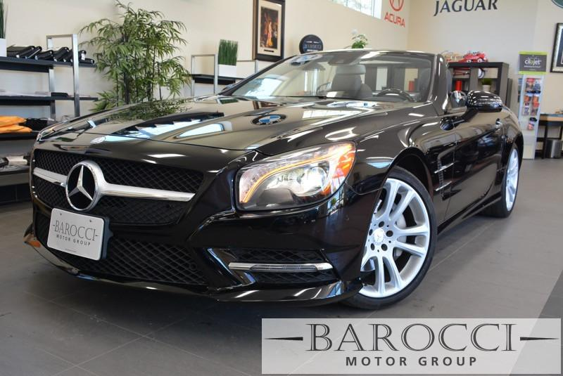 2013 MERCEDES SL-Class SL550 2dr Convertible 7 Speed Auto Black ABS Air Conditioning Alarm Al