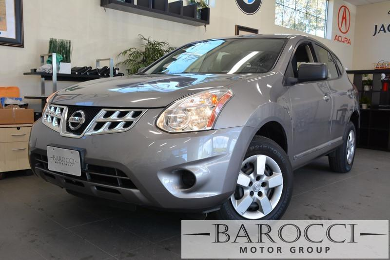 2013 Nissan Rogue S 4dr Crossover CVT Continuously Variable Gray 170 hp horsepower 2 5 L lite