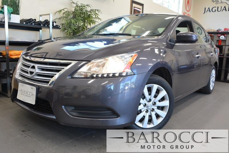 2013 Nissan Sentra SV 4dr Sedan CVT Continuously Variable Gray Gray This is a beautiful vehic