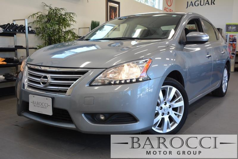 2013 Nissan Sentra SL 4dr Sedan CVT Continuously Variable Gray Gray This is a beautiful vehic