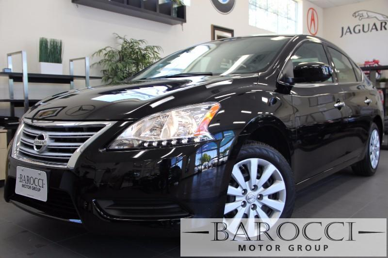 2015 Nissan Sentra S Sedan Automatic Black Black Almost Brand new has Factory warranty from Ni