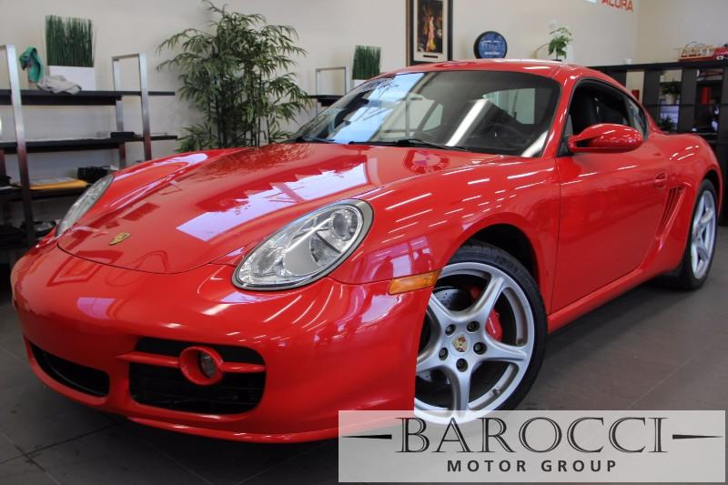 2008 Porsche Cayman S 2dr Coupe 5-Speed Automatic  Red Black This is a beautiful vehicle in gre