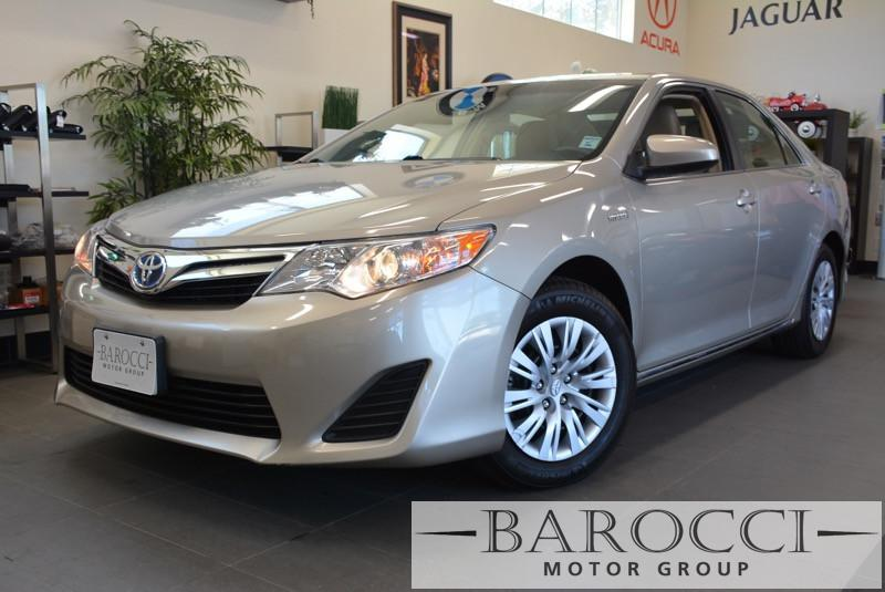 2013 Toyota Camry Hybrid LE 4dr Sedan Automatic cvt Gold Air Conditioning Alarm Alloy Wheels