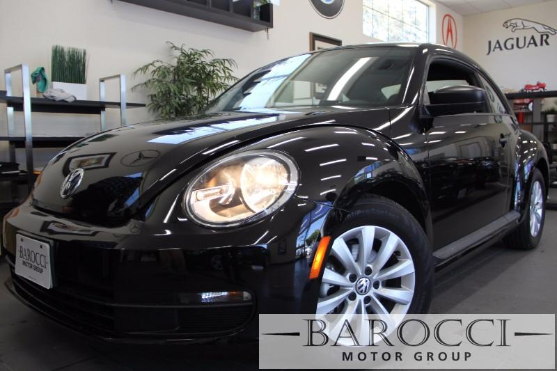 2013 Volkswagen Beetle 25L Entry PZEV 2dr Hatchback 6A 6 Speed Auto Black Black This is a beau