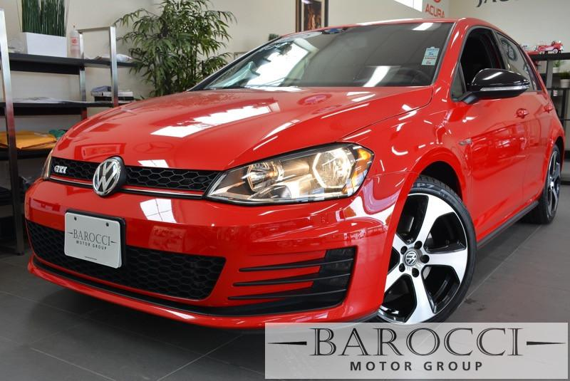 2015 Volkswagen Golf GTI S 4dr Hatchback 6A 6 Speed Auto Red ABS Air Conditioning Alarm Alloy