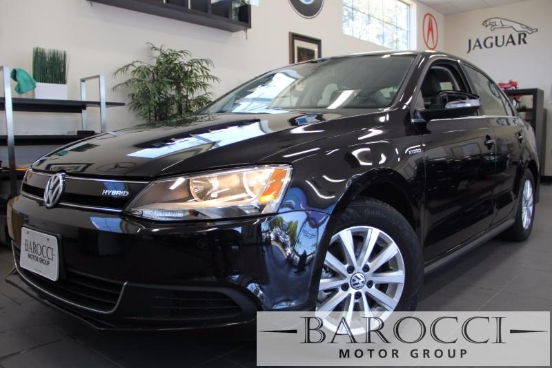 2013 Volkswagen Jetta Hybrid SE 4dr Sedan 7 Speed Auto Black Gray Beautiful Hybrid Jetta great