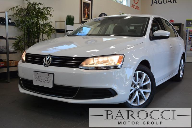 2014 Volkswagen Jetta SE PZEV 4dr Sedan 6A wConnectivi 6 Speed Auto White 1 8 liter inline 4 cy